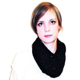 magpie darling cowl {knitting pattern} - The Crafty Jackalope - 3