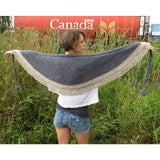 puddle shawl {knitting pattern} - The Crafty Jackalope - 1