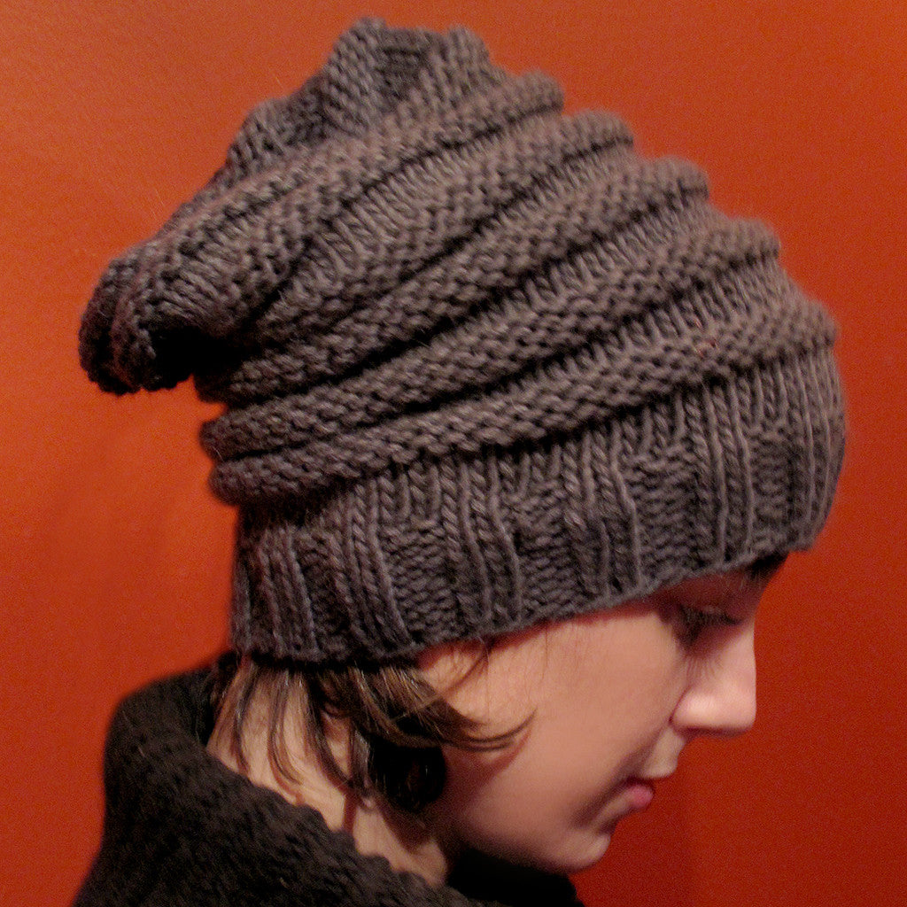 the slouchy {knitting pattern}-knitting pattern-The Crafty Jackalope