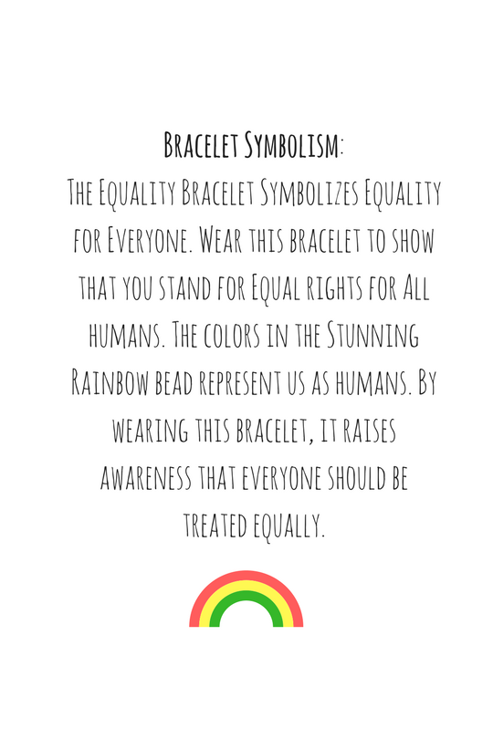 Equality Bracelet Limited Edition Alpha Accessories Alpha