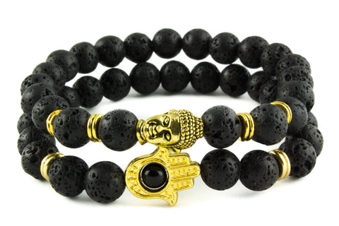 Black & Gold  // STACKED Collection *1 Day Sale!*