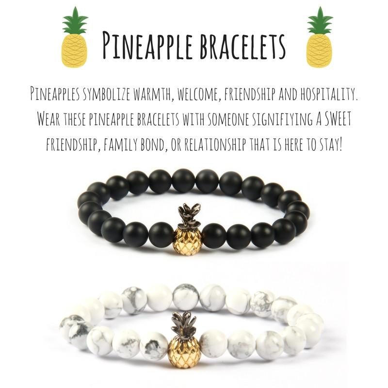 Pineapple Bracelets Alpha Accessories Alphaaccessories