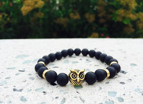 Alpha Gold Owl Bracelet   *1 Day Sale!*