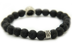 Matte Black Lava Lion Bracelet 2.0 *1 Day Sale*