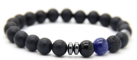 8mm Matte Agate Stone Good Luck Bracelets *1 Day Sale!*