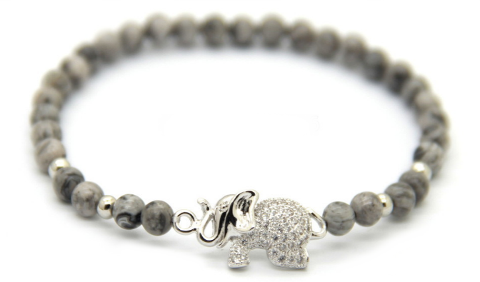 Grey & Silver Good Luck Elephant *New Item Sale!*
