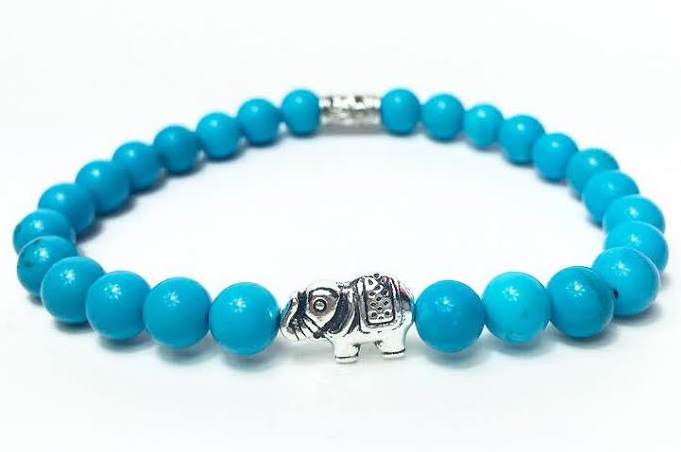 Blue & Silver Good Luck Elephant *New Item Sale!*