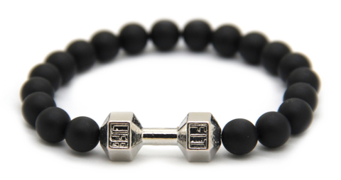 Matte Black Fitness Fit Life Bracelet *NEW Item Sale!*