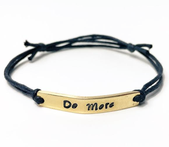 Do More Adjustable Bracelet *New Item Sale!*