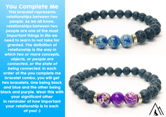 You Complete Me Relationship Bracelets