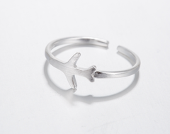 Adjustable Free Flying Airplane Ring