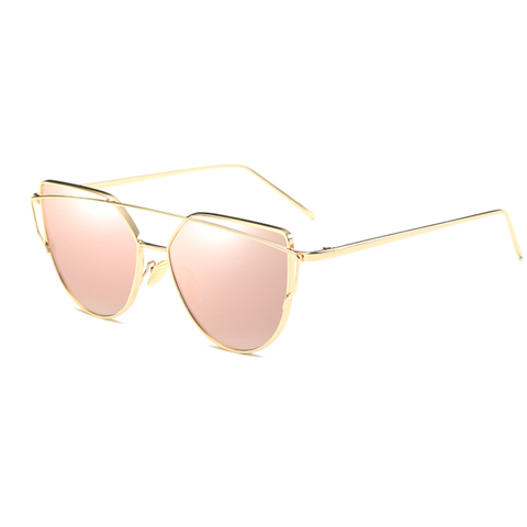 Miami vice - Gold Rose sunglasses