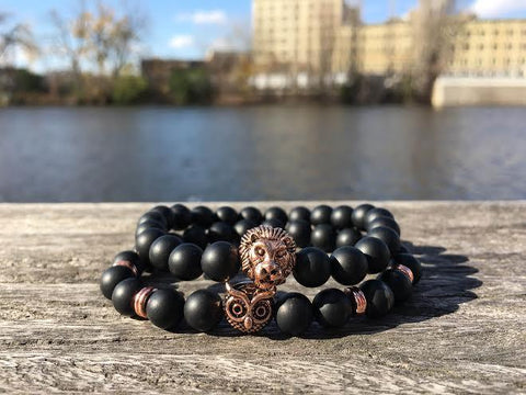 Alpha Rose Gold Stack