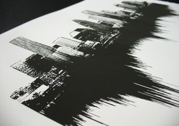 Sounds of the City: Houston Art Print