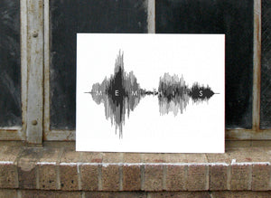 Memphis Tennessee City Wall Art Canvas - created by SoundWaveArt.net