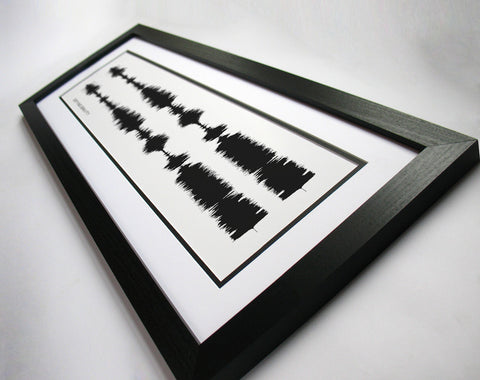 Defying Gravity - Wicked the Musical Sound Wave Art