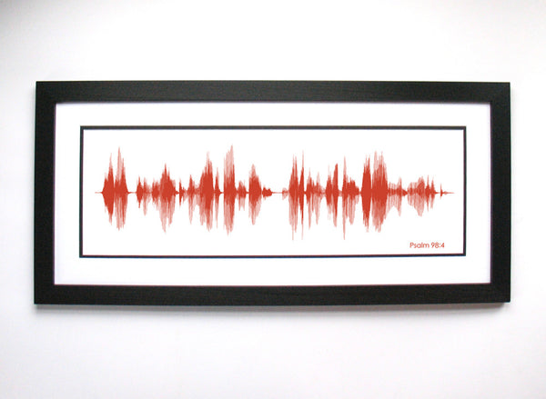 Psalm 98:4 Voice Art Wall Decor