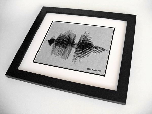 Custom Name - Your Name in Sound Waves
