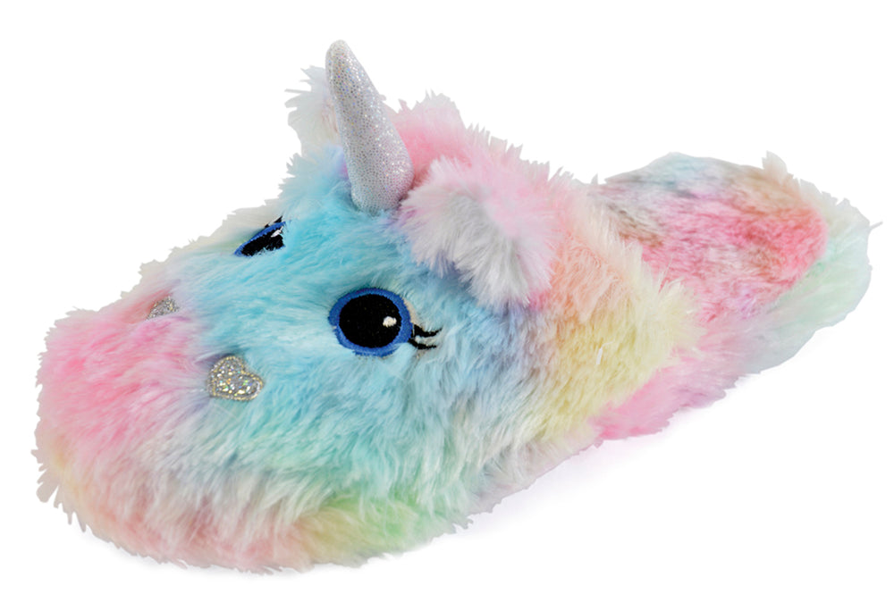 Unicorn Fleece Slippers - Miss Vanilla