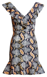 Snake Print Dress - Miss Vanilla