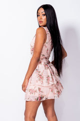 Sleeveless Mini Dress - Miss Vanilla