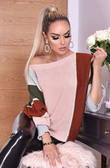 Nude Batwing Jumper