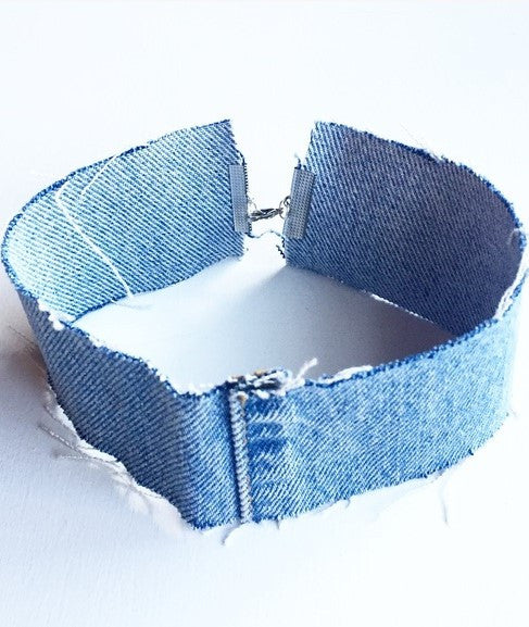 Denim Choker - Miss Vanilla