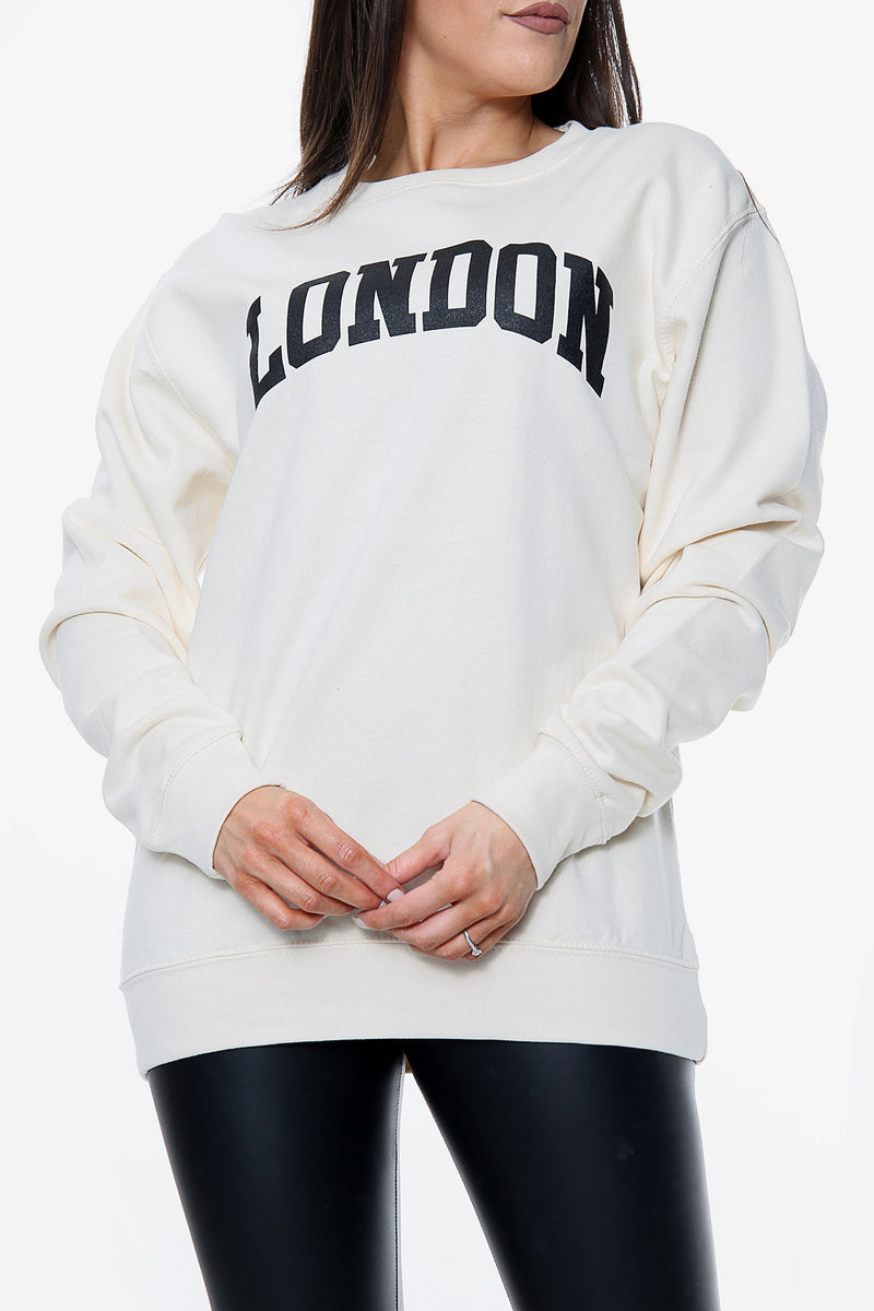 London Slogan Sweatshirt