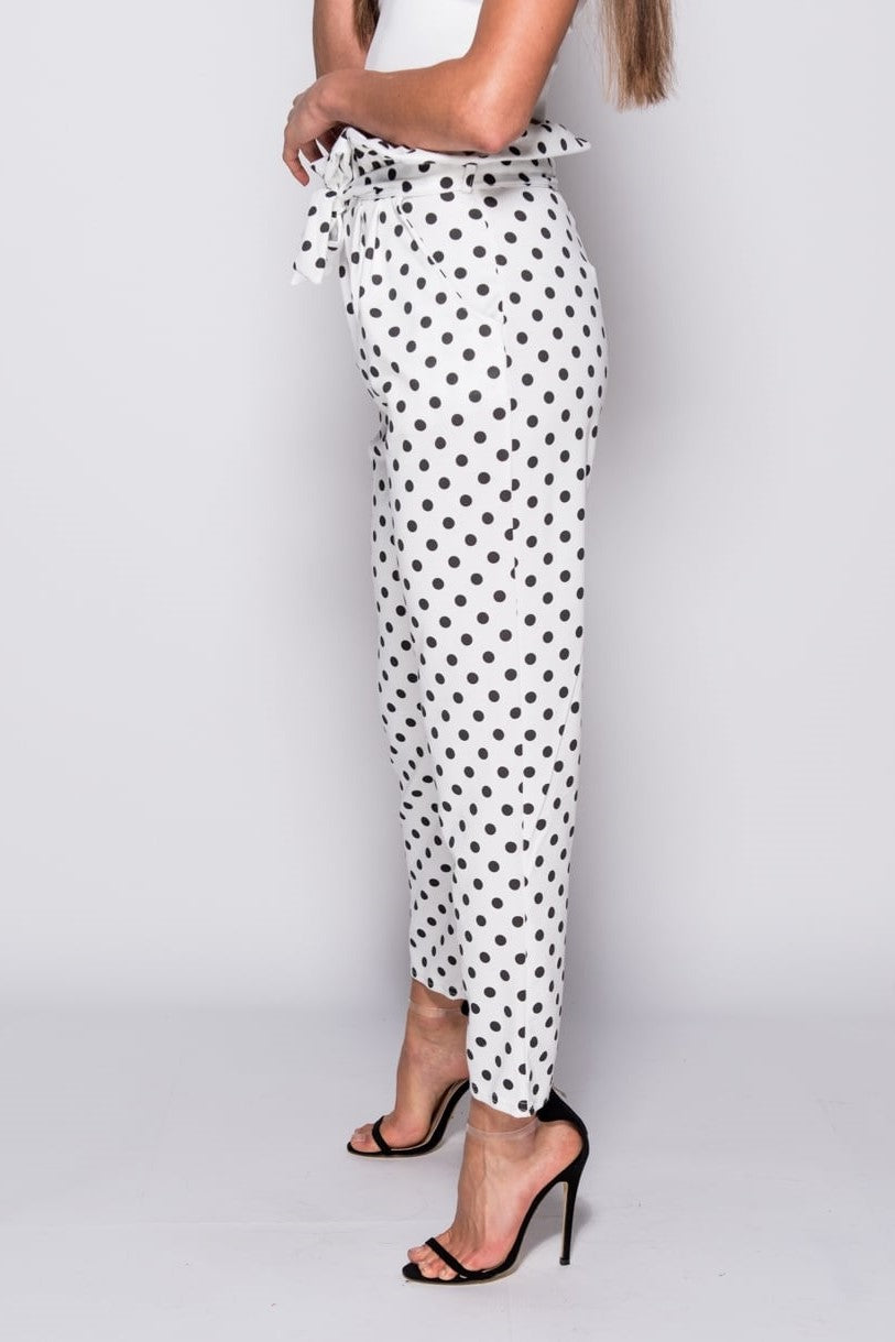 Polka Dot Trousers - Miss Vanilla