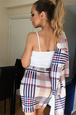 Checked Striped Skirt - Miss Vanilla