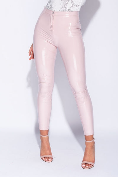 Wetlook Vinyl Trousers
