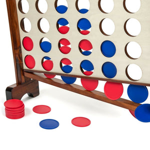 Giant Connect Four - Tailgating Pros