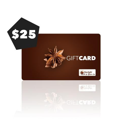 Starlight Herb Gift Cards