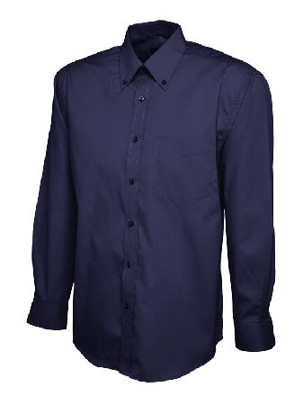 Men's Pinpoint Oxford Long Sleeve Shirt - UC701