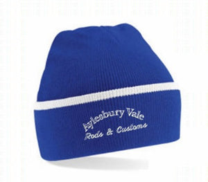 Aylesbury Vale Beanie with Club embroidery