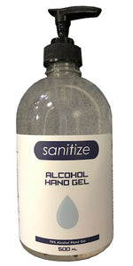 Sanitizer pump Gel 500ml 70%
