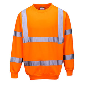 Hi Vis Sweater - RIS  Rail Track Approved  B303