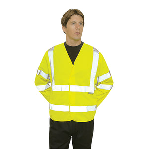 Hi-Vis Two Band & Brace Jacket - C473