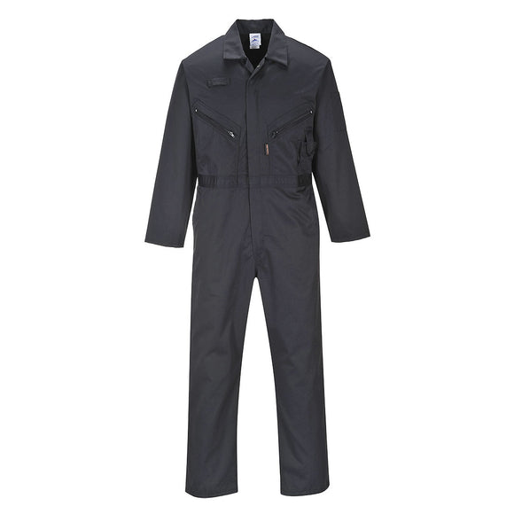 C813 - Liverpool Zip Coverall Tall