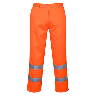 Hi Vis Poly cotton Trousers - E041
