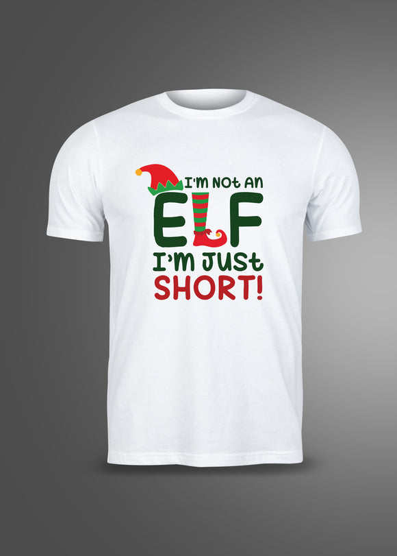 Funny Elf Christmas T-Shirt