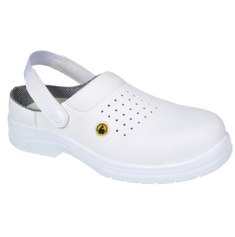 COMPOSITELITE ESD PERFORATED SAFETY CLOG SB AE FC03