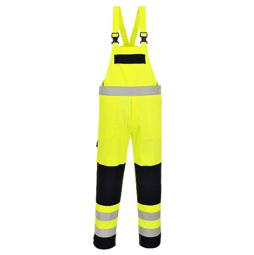 HI-VIS MULTI-NORM BIB AND BRACE - FR63