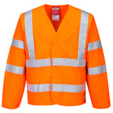 Hi-Vis Anti Static Jacket - Flame Resistant - FR85