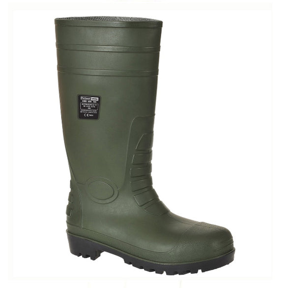 Safety Wellingtons Black, Green or White - FW95