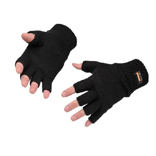 GL14 - FINGERLESS KNIT INSULATEX GLOVE