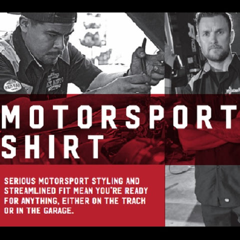 SP28 - RED KAP MOTORSPORT LONG SLEEVE SHIRTS