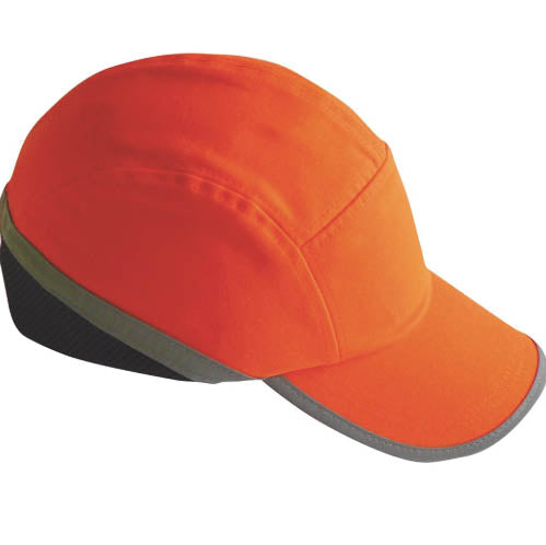 PW79 - BUMP CAP Hi Vis Orange & Yellow