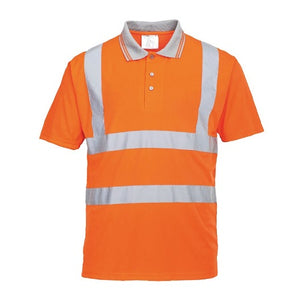 Hi Vis Short Sleeved Polo RIS  - RT22