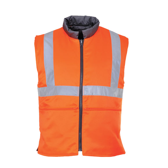 Hi Vis Reversible Bodywarmer RIS - RT44
